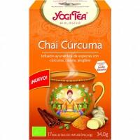 YOGI TEA CHA CURCUMA 17 B
