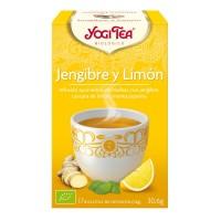 YOGI TEA JENGIBRE Y LIMON 17 B