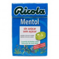 RICOLA MENTOL S-AZ CAJA