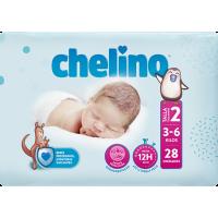 CHELINO FASHION & LOVE PAÑALES T-2  3-5 K