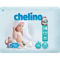 CHELINO FASHION & LOVE PAÑALES T-4  9-15 K