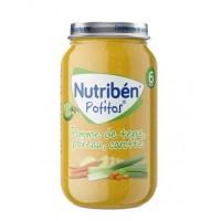 NUTRIBEN PATATA PUERRO Y ZANAHORA 235GR