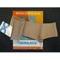 FARMALASTIC MEDIA CORTA COMP FTE ABIERTA T-M
